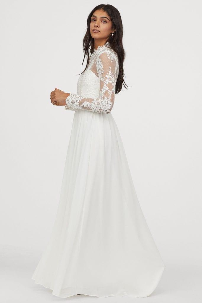 Budget wedding dress