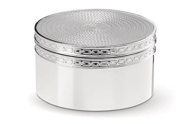 5th Anniversary gifts silver treasure box
