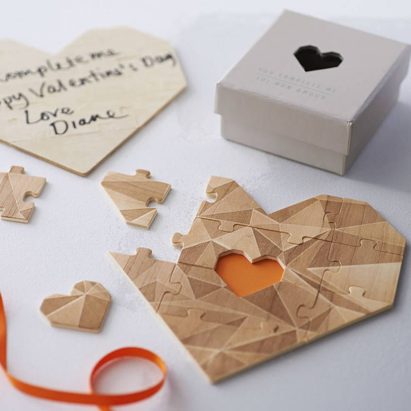 5th Anniversary gifts wooden jigsaw