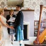 A beautiful Scottish/French wedding