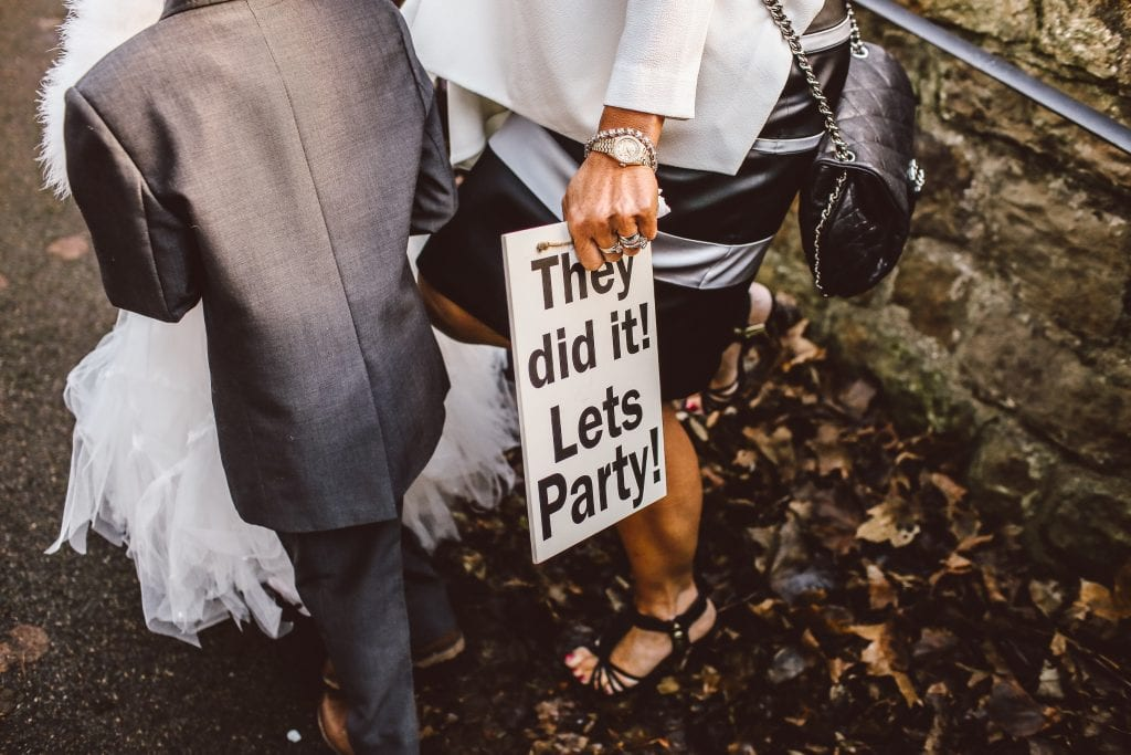 The Ultimate Best Man Duties Checklist wedding party sign unsplash 6