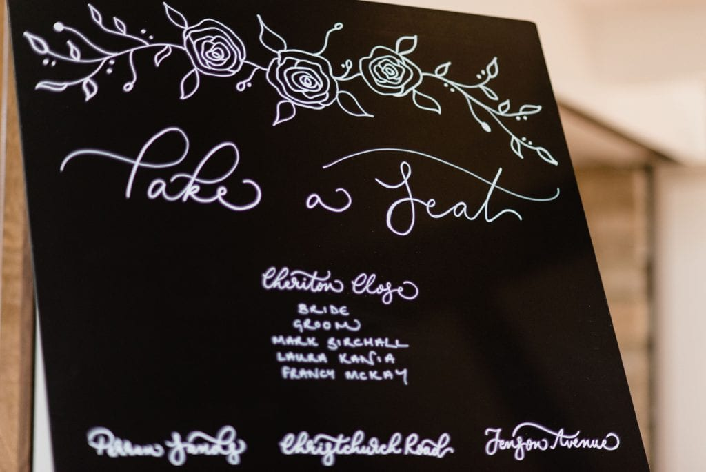 Second Time Bride Seating Plan