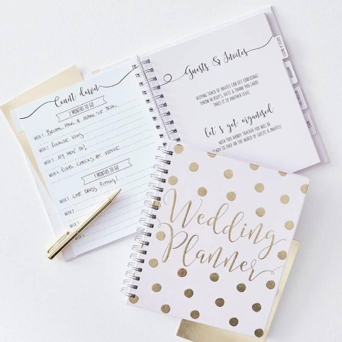Wedding Planner Books Ginger Ray