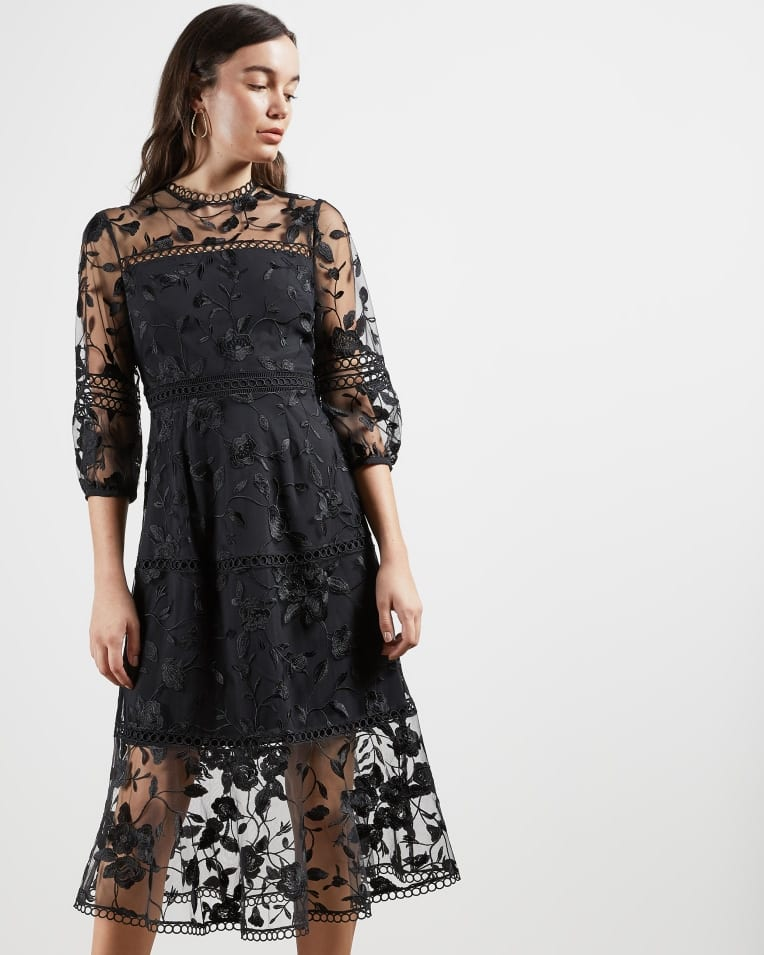 Black wedding dresses on the high street