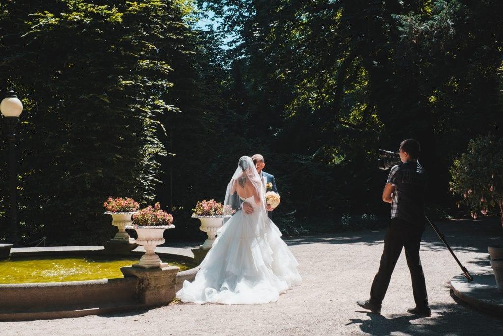 wedding photographer bride and groom photo