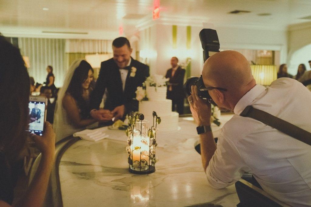 Wedding photographer reception photos