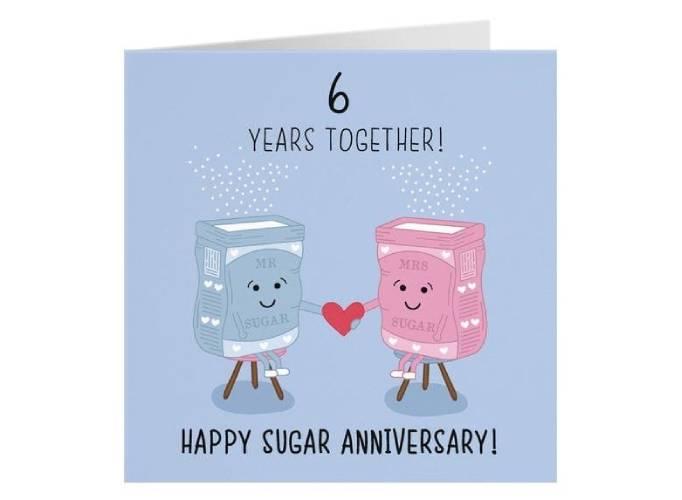 6th anniversary gift ideas