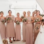 Sharon Cudworth Photography Bridesmaids nude dresses 6