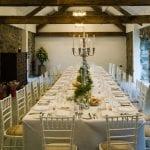 Henblas Country Park Intimate wedding breakfast room.jpg 14