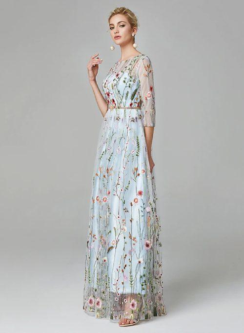 Coloured wedding dresses