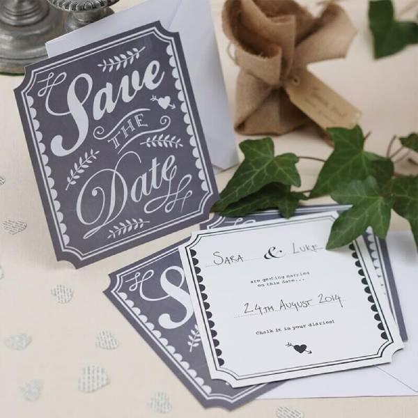 Wedding Save The Date Card Ideas