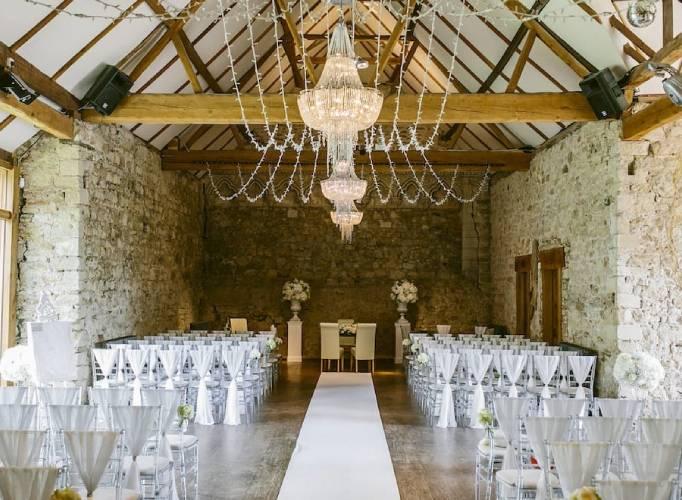 Notley Abbey Wedding Venue Ceremony