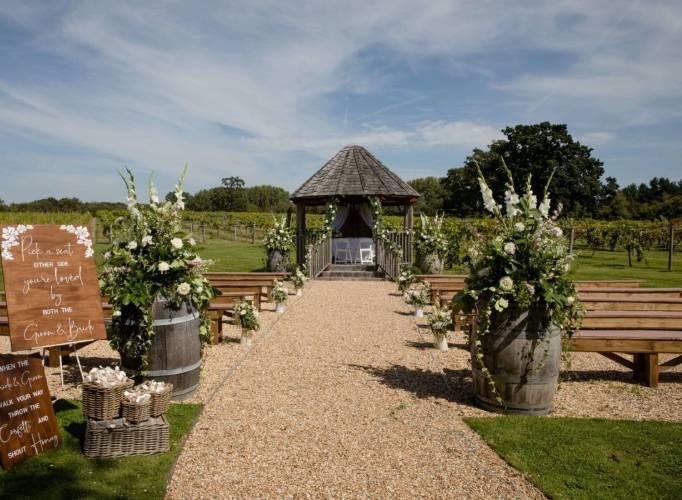 Three Choirs Vineyard Wedding Venue Southamptonshire