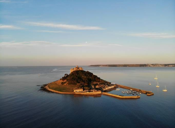 Romantic Places to Propose in the UK St Michaels Mount