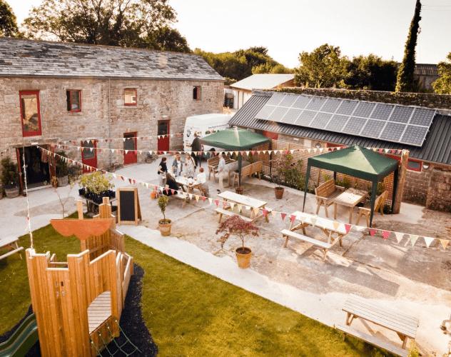 Knightor Winery wedding venue west country