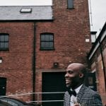 Groom overjoyed after wedding in Nottingham at Trinity Church - Wedding Photography by Luke Whittemore
