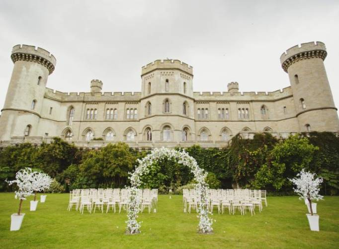Eastnor Castle Wdding Venue Herefordshire