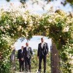 Wood Hall Hotel Gardens groomsmen.jpg 18
