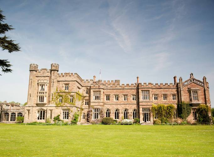 Hampton Court Castle Wedding Venue Herefordshire