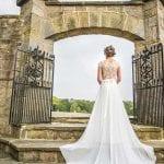 Wood Hall Hotel bride on steps.jpg 36