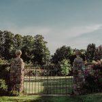 GA Pitt Rivers gates at Hinton Manor