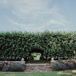 garden weddings at HSME