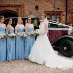 Layer Marney Tower Layer Marney Tower Andy Chambers Gemma, bridesmaids and Rolls Royce.jpg 9