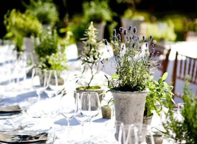 Eco weddings live flowers