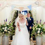 Leighton Hall Marquee BrideandGroomentering.jpg 2
