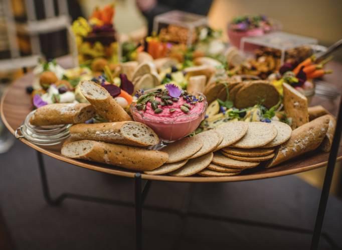 Eco weddings vegan food