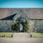Bake Barn, Fonthill Estate Flower arch over Bake Barn entrance.jpg 1