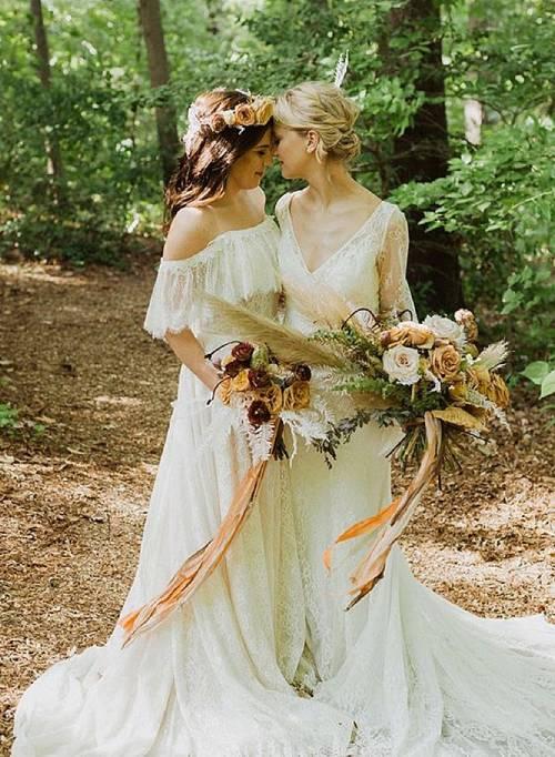 Same Sex Wedding Outfits