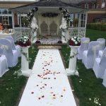 Park Hall Hotel and Spa Wedding Gazebo white sash.jpg 14