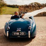 Bake Barn, Fonthill Estate XK120 Jaguar Just Married.jpg 9