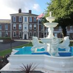 Park Hall Hotel and Spa exterior front fountain.jpg 6