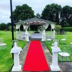 Park Hall Hotel and Spa wedding pagoda socially distanced.jpg 10