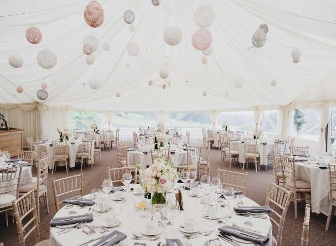 Osmaston Park Marquee Wedding Venue