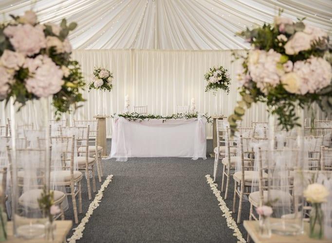 The Granary at Fawsley Marquee Wedding Venue