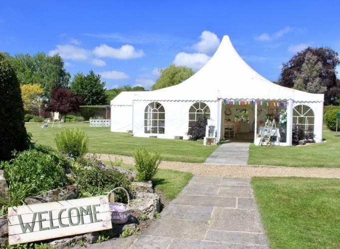 The Orangery Suite Marquee Wedding Venue