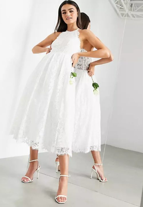 Stunning Short Wedding Dresses For ASOS Edition Valerie 17