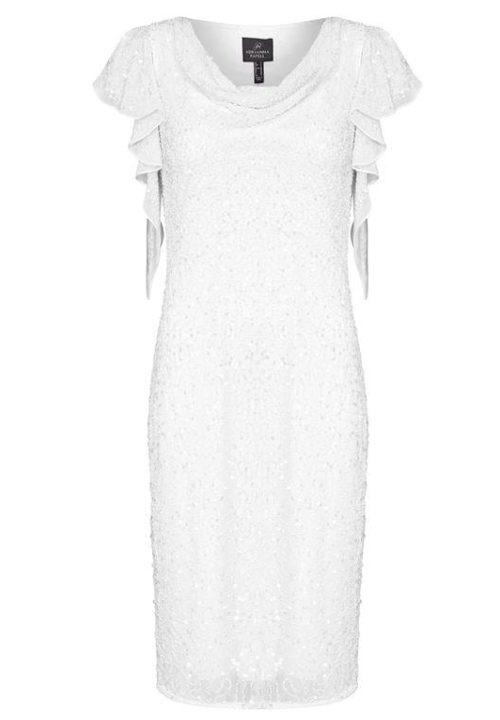 Stunning Short Wedding Dresses For Adrianna Papell HOF 24