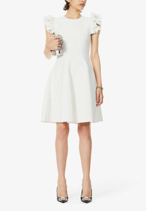 Stunning Short Wedding Dresses For Alex Mcqueen Selfridges 23