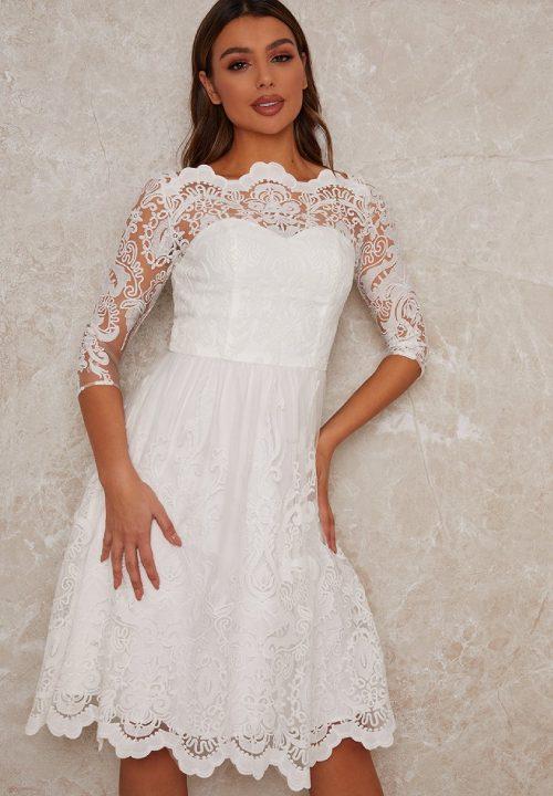Stunning Short Wedding Dresses For Chi Chi 22