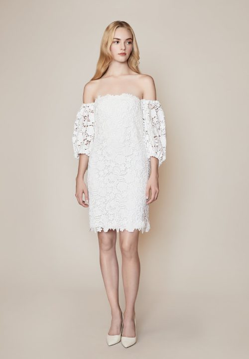 Stunning Short Wedding Dresses For Lela Rose Addington 12