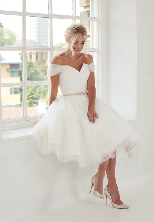Stunning Short Wedding Dresses For Mooshki Maisie 57