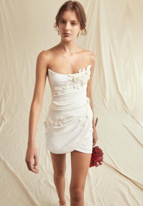 Stunning Short Wedding Dresses For Oscar De La Renta 46