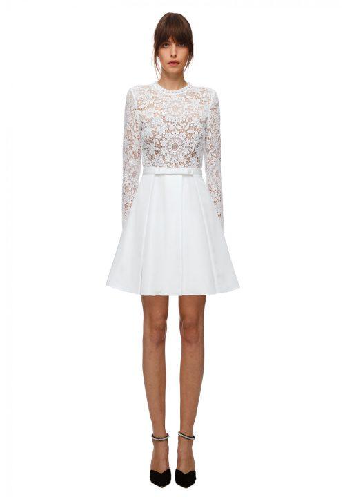 Stunning Short Wedding Dresses For Self Portrait Lace Dress 15