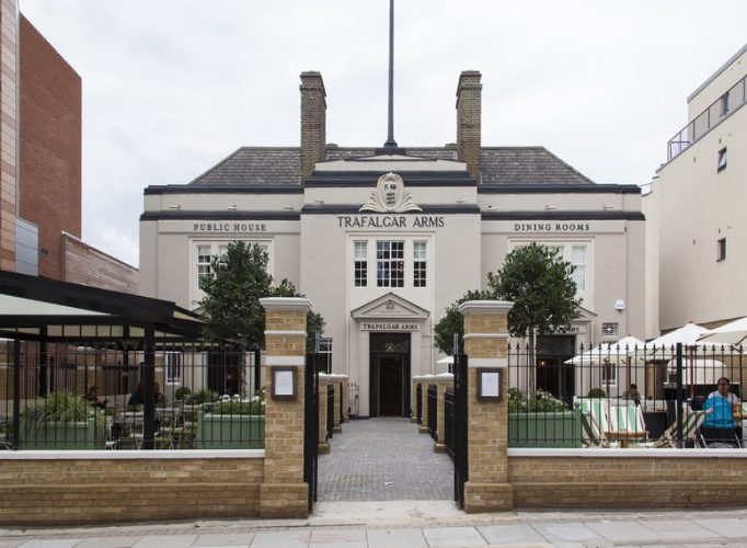 Showstopping Wedding Venues In London The Trafalgar Arms 10